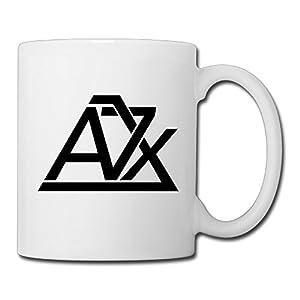Christina Avenged Sevenfold A7x Logo Ceramic Coffee Mug Tea Cup White