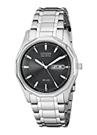 Citizen Men's (BM8430-59E) Eco-Drive Stainless Steel Watch with Link Bracelet, Silver