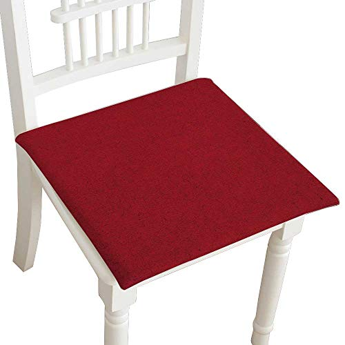- HuaWuhome Chair Pads Classic Design Old Vintage red Paper Texture Cotton Canvas Futon 32