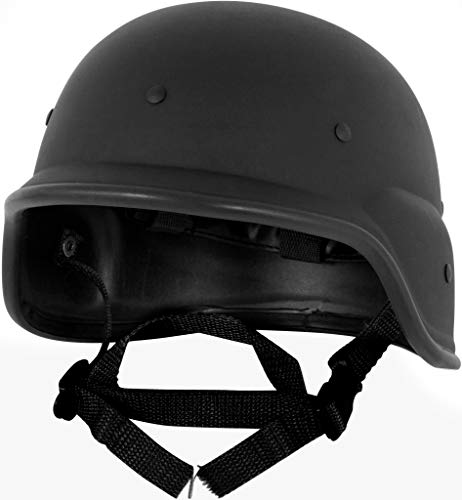 (Modern Warrior Tactical M88 ABS Tactical Helmet - with Adjustable Chin)