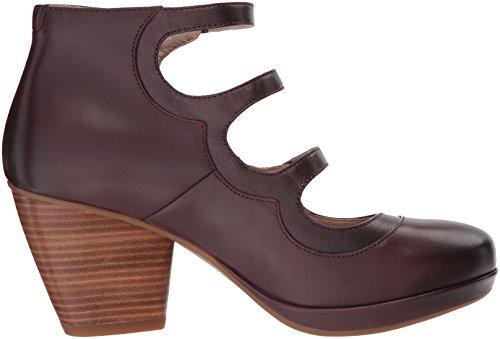 Marlene Women's Wine Dansko Ankle Boot Calf Burnished P5OIw
