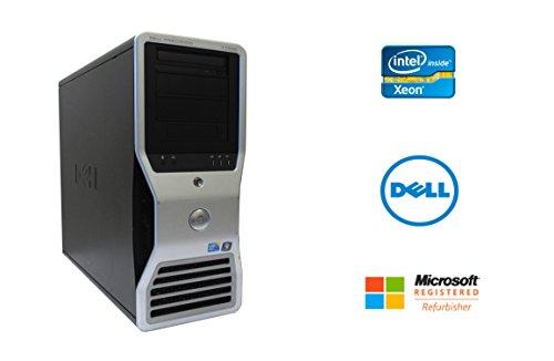 Dell Precision T7500 Intel Xeon 8 Core 2.93GHz 48GB RAM 2TB Hard Drive NVIDIA Quadro 2000 Windows 10 Pro 64-bit