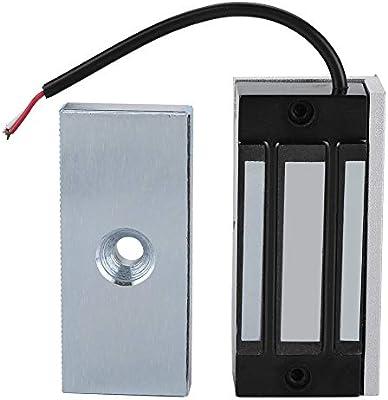 Cerraduras de puerta magnéticas eléctricas de una sola puerta 24V ...