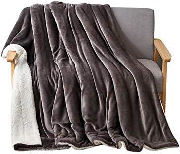 Couverture, Plus Polaire, Couette Couverture Double Face Couverture Douce Peluche Couverture d'hiver Biens d'équipement ménager (Color : Brilliant Purple, Size : 150 * 200cm)