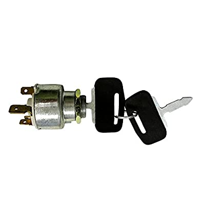 Complete Tractor 1100-0972 Ignition Switch (For Ford Holland 250C; 260C; 345C Loader;): Automotive