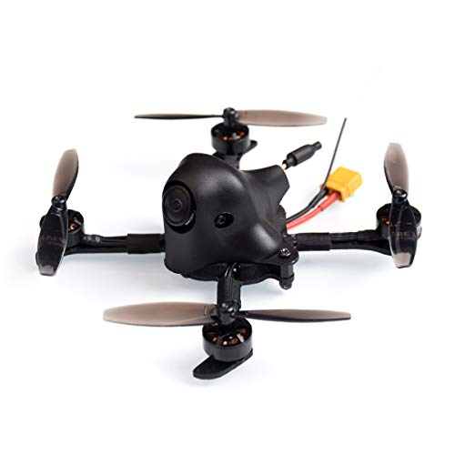 BETAFPV HX100 100mm 2-3S FPV Racing Quadcopter Carbon Fiber with F4 2-4S AIO 12A FC Runcam Nano V2 Camera OSD Smart Audio 0/25/200mW Switchable VTX 1103 8000KV Motor Micro RC Drone (Frsky FCC)