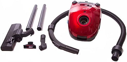 QMMCK Aspirateur sans Aspirateur sans Sac 1300w buse spéciale sèche; Inverser le sol rouge