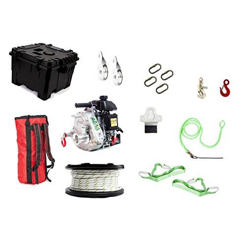 Portable Capstan Winch Hunting Kit, Model# PCW5000-HK