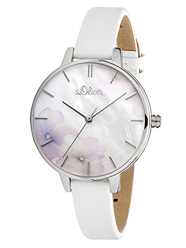 s.Oliver Damen Analog Quarz Armbanduhr SO-3522-LQ 5
