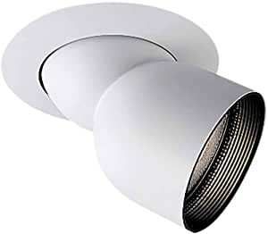 Halo Recessed 90P 6-Inch Double Bubble Adjustable Trim and Eyeball, White