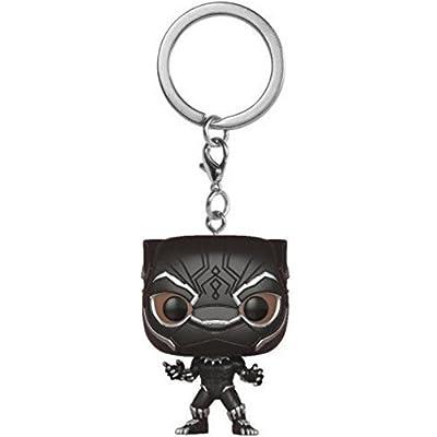 FunKo Pocket Pop - Porte-Clé - Marvel - Black Panther, 24081-Pdq
