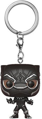 Funko Pop Keychain Black Panther Collectible Figure