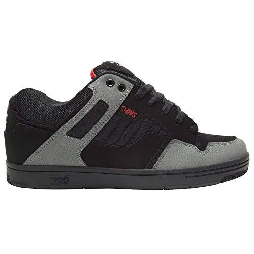 DVS Men's Enduro 125 Skate Shoe,black charcoal red new black,13 Medium US