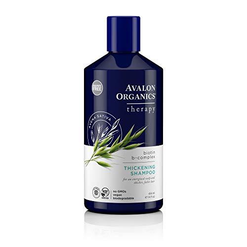 Price comparison product image Avalon Organics Biotin B-Complex Thickening Shampoo,  14 oz.