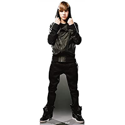 "Justin Bieber My World Cardboard Cutout Life Size Standup 72"" Tall SC2018"