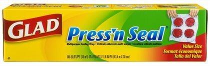 Glad Press'n Seal Food Wrap-1 ct, 140 Sq ft (Pack of 4) by Glad