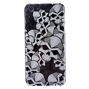 DUR Special Design Cool Skulls Pattern Hard Case for iPhone 5/5S