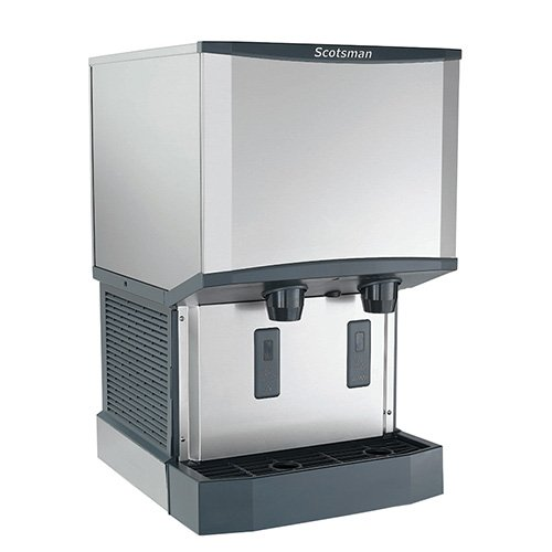- Scotsman HID525A-1 - Meridian Countertop Ice Maker and Dispenser, 500 lb. Production, 21 1/4