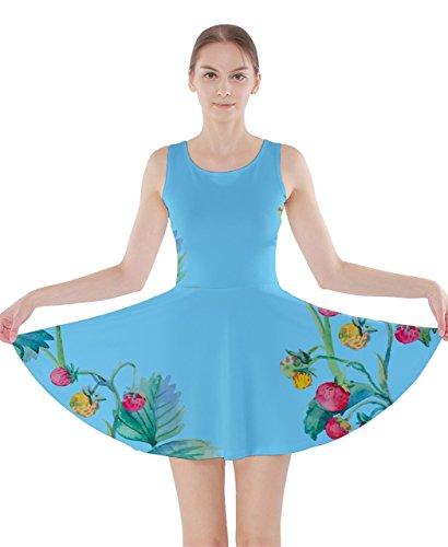 CowCow - Vestido - para mujer azul celeste