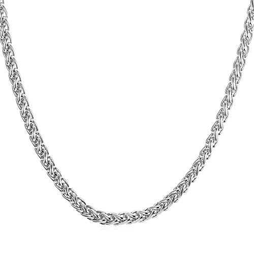 U7 Chain Stainless Twisted Necklace