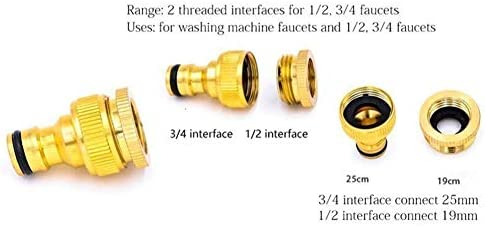 CIVIKY Expandable Garden Hose, Garden Irrigation Flexible Water Hose Pipe 8 Function Spray Head Brass Connectors 50FT/100FT-50FT/15M