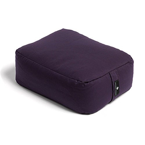 Hugger Mugger Zen Choice Yoga Meditation Pillow (Plum)