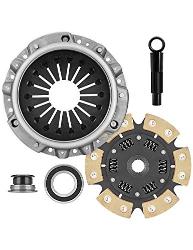 AT Clutches Stage 3 Clutch kit for Honda S2000 2000-2009 2.0L 2.2L K-08-023 (Best Clutch For S2000)