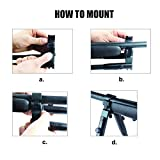 JINSE-Tactical-Bipod-Dragon-Claw-Clamp-on-Folding-Rubber-Feet-Height-65-75
