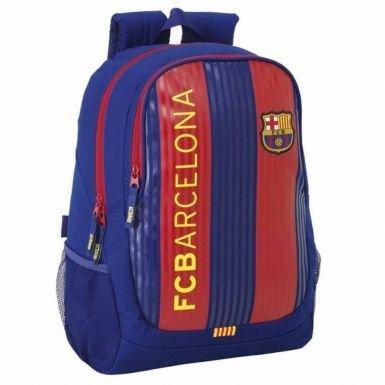 FC Barcelona Striped Crest Backpack