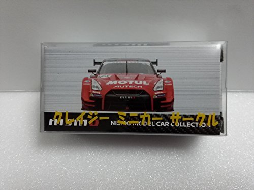 (Japan Import Custom Tomica NISMO Fisutibaru 2017 limited MOTUL AUTECH GT-R # 23 SUPER GT GT500 2017 color crazy minicar with Circle case)