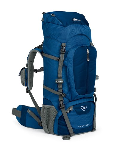 High Sierra Classic Series 59401 Sentinel 65 Internal Frame Pack Pacific 32×14.25×8.75 Inches 3970 Cubic Inches 65 Liters, Outdoor Stuffs