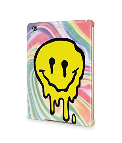 Melting Smiley Face Tie Dye Trippy LSD Acid Plastic Snap-On Case Cover Shell For Apple iPad Mini 2 / 3 (Tie Dye Ipad 2 Case compare prices)