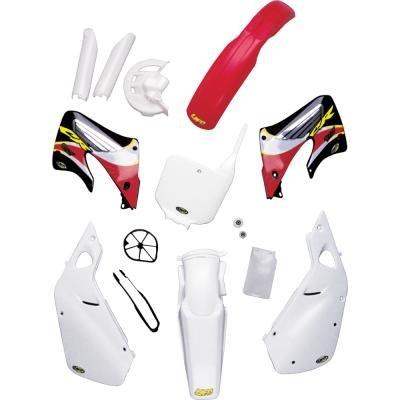 - UFO HO02639041 Replacement Plastic (for Honda SD CVR XR600 88-98 White)