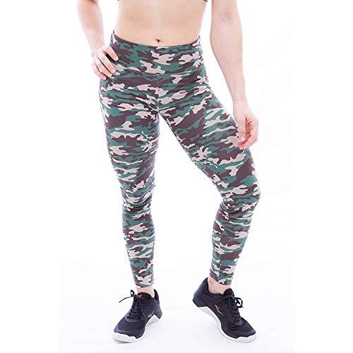 Calça Legging Feminina Fourmixx Army Cor:verde;tamanho:p