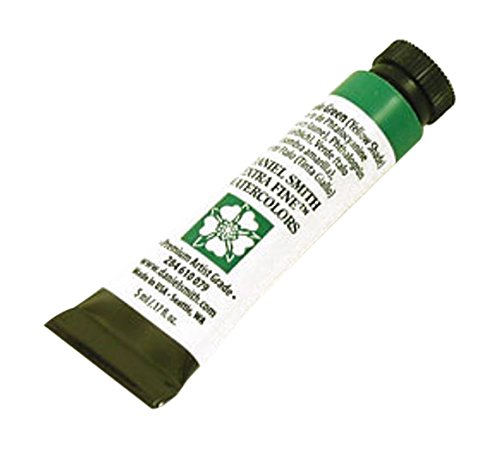 Daniel Smith 284610079 Extra Fine Watercolors Tube, 5ml, Phthalo Green (Yellow Shade)