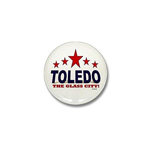 CafePress Toledo The Glass City Mini Button 1