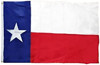 product image for Eder Flag – Texas State Flag - Durable Endura-Nylon - Fade-Resistant - Reinforced Fly Stitching - Heavy-Duty Header - Proudly Made in The USA (6x10 Foot)