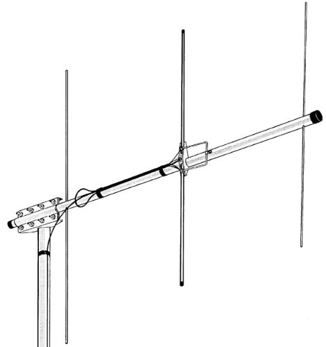 Hy-Gain VB-23FM ~Yagi Antenna, 2m, 3 Element (Best 2 Meter Beam Antenna)