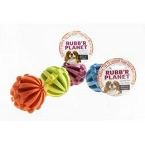 Ruff 'N' Tumble Rubb 'R' Planet Dog Training Toy (One Size) (May - Rubb Usa