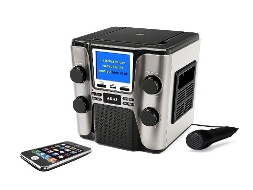 Akai KS505 CDG Karaoke Player (Top Load Cdg Karaoke Machine)