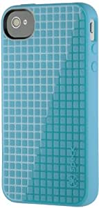Speck Products PixelSkin HD Case for iPhone 4/4S - 1 Pack - Carrying Case  - Peacock