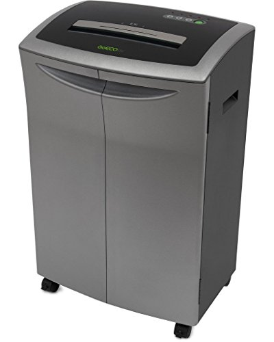GoECOlife GXC181Ti 18 Sheet Cross-Cut Paper Shredder, Platin