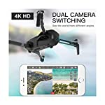 DRONE-CLONE XPERTS Drone X Pro LIMITLESS with GPS Auto Return Home, 5G WiFi FPV, 4K UHD Dual Camera, Brushless Motors…