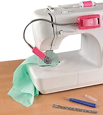 OttLite Lámpara LED 2 en 1 para máquina de coser, lámpara de clip ...