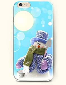 chen-shop design SevenArc Phone Case for iPhone 6 Plus 5.5 Inches with the Design of White Cloud and Moon and Tree in the Dark high quality