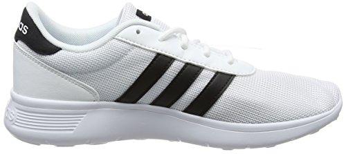 Adidas Damen Lite Racer Fitnessschuhe Elfenbein (ftwr Wht / Core Black / Ftwr Wht)