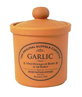 Garlic Jar Keeper, Made in England, The Original Suffolk Collection by Henry Watson