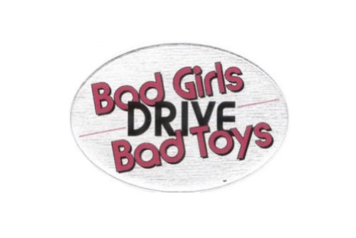 Knockout 106H Bad Girls Drive Bad Toys Hitch Cover
