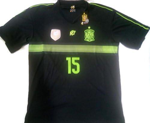 Camiseta Sergio Ramos R. Mundial Selección Española Original RFEF: Amazon.es: Deportes y aire libre