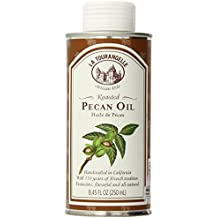 La Tourangelle Roasted Pecan Oil 8.45 Fl. Oz, All-Natural, Artisanal, Great for Salads, Grilled Fish and Meat, or Pasta